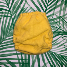 Diaper - Flax Linen Fitted w/ Insert Set