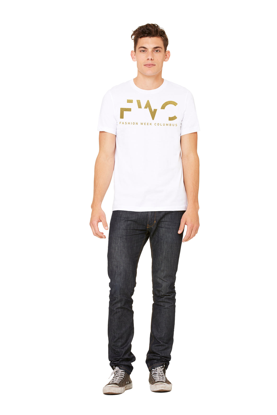 FWC Unisex White Tee - Fashion Week Columbus