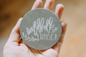 Wildfolk Lumber Physical Wooden Gift Card