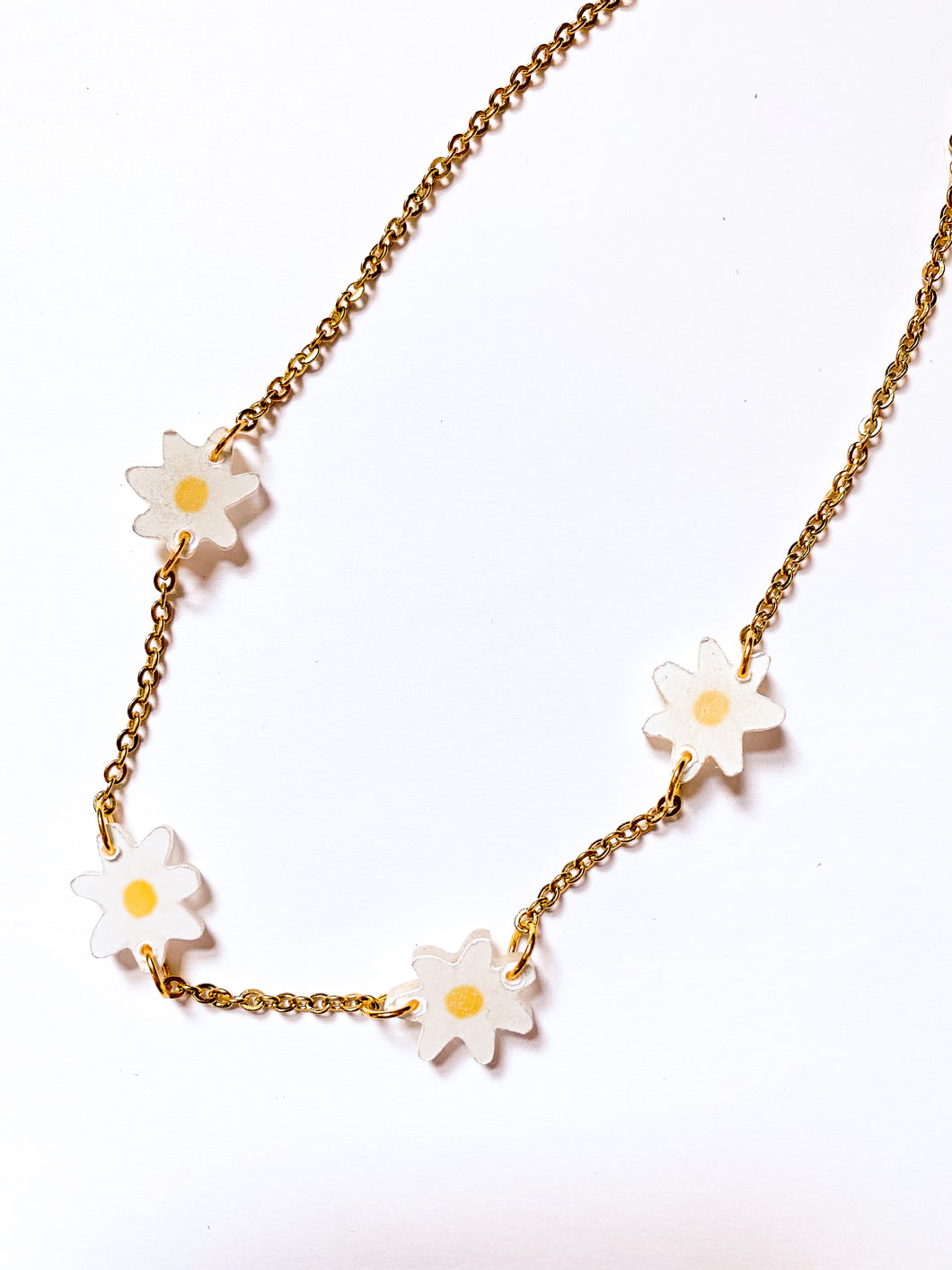 Daisy Chain Choker Adult Sz Necklace