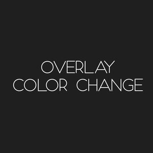 Overlay color change