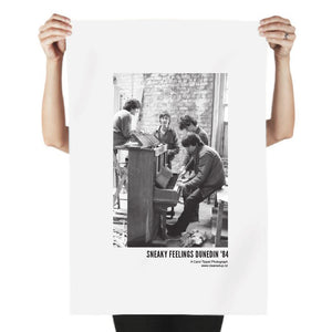 Tea Towel - Sneaky Feelings Dunedin '84  Original photograph by Carol Tippet  100% cotton, water based inks, food safe