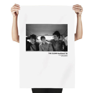 Tea Towel - The Clean Auckland '81  Original photograph by Carol Tippet  100% cotton tea towel, water based inks. food safe
