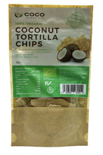 Organic Coconut Tortilla Chips - Coco Junction