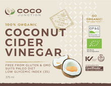 Organic Coconut Cider Vinegar - Coco Junction