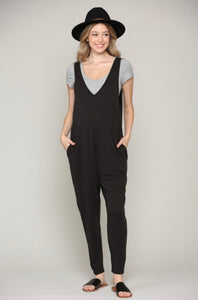 Maternity Sleeveless Jumpsuit