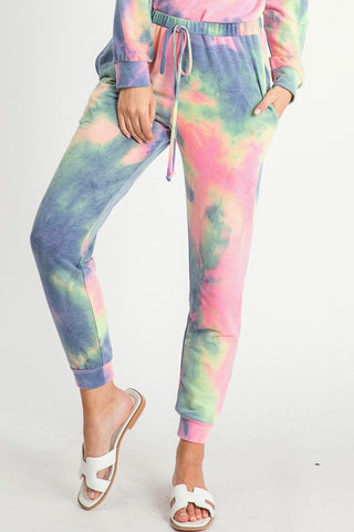 Bright Tie-Dye Lounge Pants