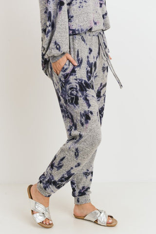 Navy Tie-Dye Lounge Pants