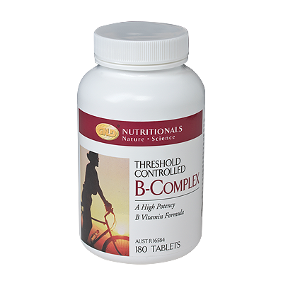 GNLD Vitamin B Complex Threshold Control 180 tabs