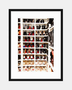 Original Coveteur Print - A Closet Fit for A Kardashian