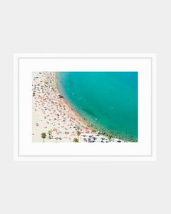 Original Coveteur Print - Barceloneta Beach Views