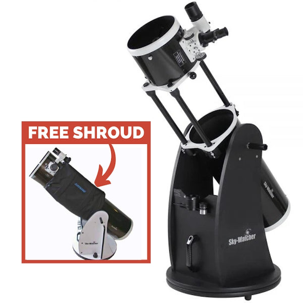 "Sky-Watcher Flextube 200P 8"" Collapsible Dobsonian Telescope"