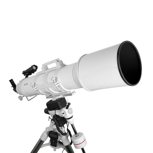 FirstLight AR152mm White Tube Refractor with EXOS-2 Mount White GOTO