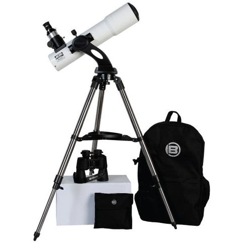 Bresser Rich Field AR-102mm f/4.5 Doublet Refractor Telescope and Binoculars Kit
