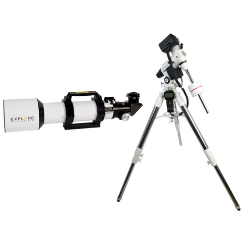 Explore Scientific Essential Series Aluminum ED102 f/7 APO Triplet Refractor w/EXOS2 GOTO mount