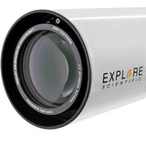 Explore Scientific Classic White Aluminum ED102 f/7 APO Triplet with Hoya FCD100 optics