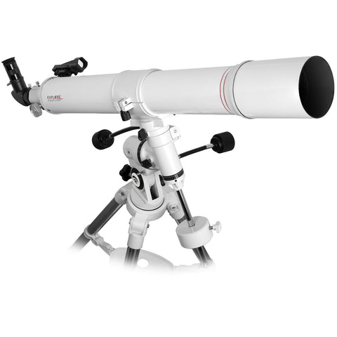 FirstLight AR80mm White Tube Refractor with EXOS Nano EQ Mount & Plossl Eyepiece