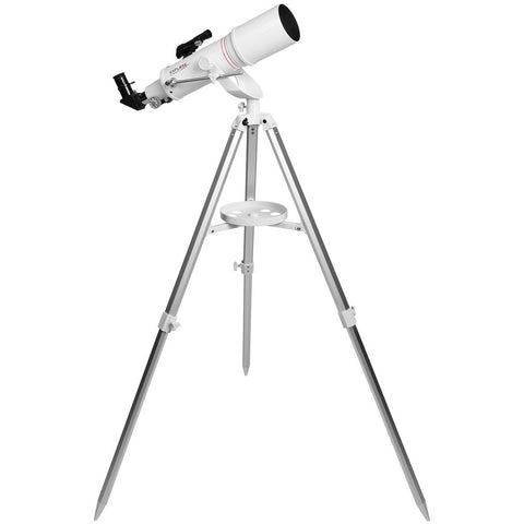 FirstLight AR90mm White Tube Refractor Telescope w/AZ Mount