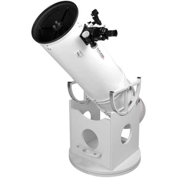 "Explore Scientific FirstLight 10"" Solid Tube Dobsonian Telescope"