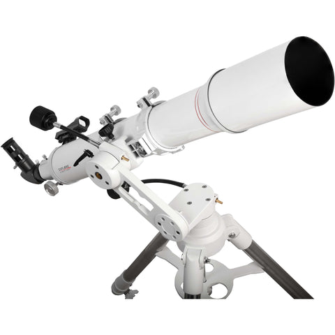 Explore Scientific FirstLight AR102mm White Tube Refractor Telescope with Twilight 1 Altazimuth Mount
