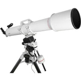 FirstLight AR127mm White Tube Refractor with EXOS-2 Mount White with GOTO