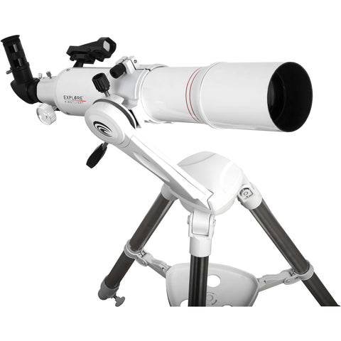 Explore Scientific FirstLight AR80mm White Tube Refractor with Twilight Nano Altazimuth Mount