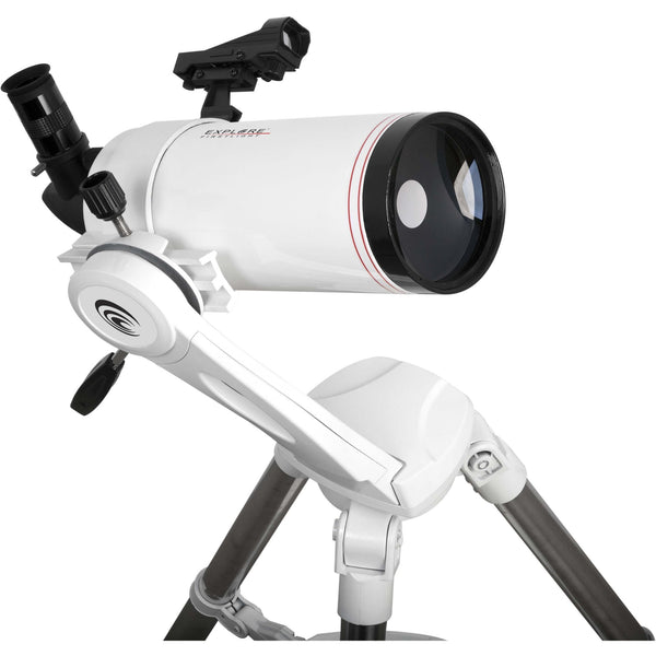 Explore Scientific FirstLight MAK 100mm White Tube Maksutov-Cassegrain with Twilight Nano Mount