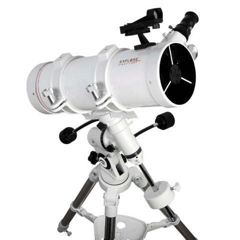 FirstLight N114mm White Tube Newtonian with EXOS Nano EQ Mount