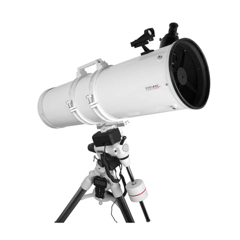 FirstLight N203mm White Tube Newtonian with EXOS-2 GOTO Mount
