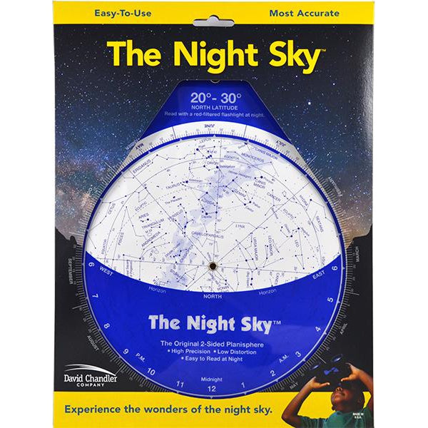 The Night Sky Planisphere by David Chandler Company - Plastic Version