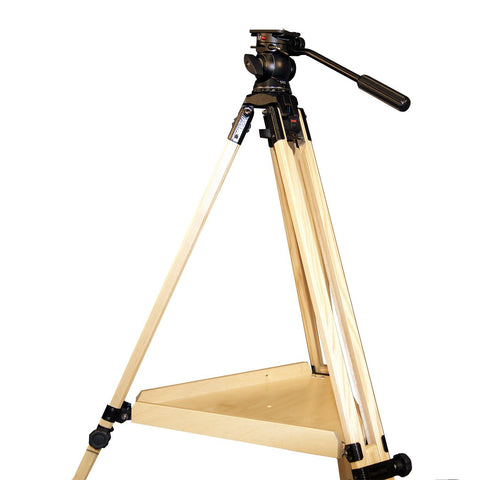 Vixen StarGuy Tripod with 2-Way Tilt Head for Cameras, Spotting Scopes and Binoculars