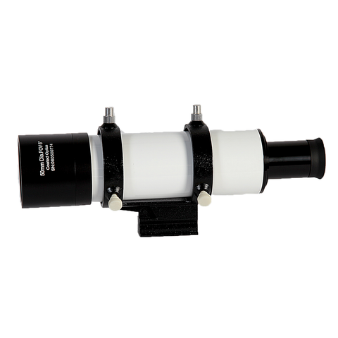 Explore Scientific 8x50 NON-Illuminated White Finder Scope with 6° Field of View