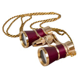 Levenhuk Broadway 325F Opera Glasses with LED light and chain