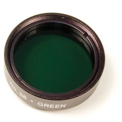"Levenhuk 1.25"" Optical Filter #58 (Green)"