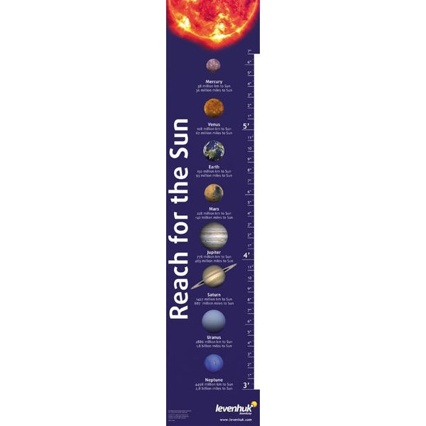 """Reach for the Sun"" Levenhuk Growth Chart"