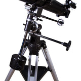 Levenhuk Skyline 70x900 Telescope with Equatorial Mount and Eyepieces