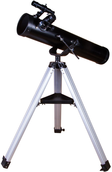Levenhuk Skyline BASE 120S 114mm Newtonian Reflector Telescope with AZ Mount