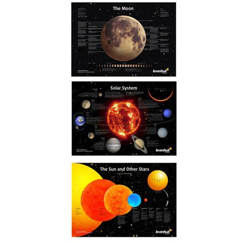 Levenhuk Space Posters Set