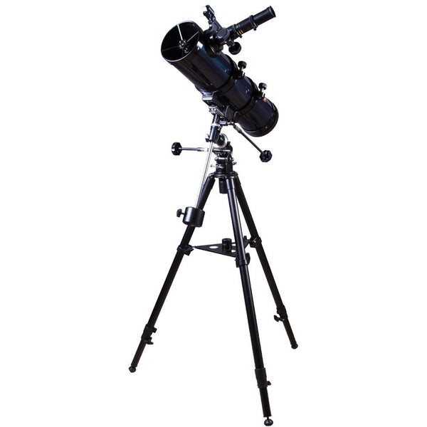 Levenhuk Strike 100 PLUS Newtonian Telescope with Equatorial Mount and Advanced Kit