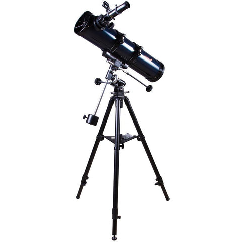 Levenhuk Strike 120 PLUS Newtonian Telescope Advanced Kit with Equatorial Mount