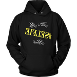 """This is My #SELFIE Hoodie"" Hooded Sweatshirt (Yellow)"