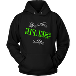 """This is My #SELFIE Hoodie"" Hooded Sweatshirt (Green)"
