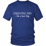 """Parenting Win, I Took A Shower Today"" Unisex Shirt"