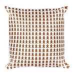 Christmas Gingerbread Cookie Pillow - Pillow insert included