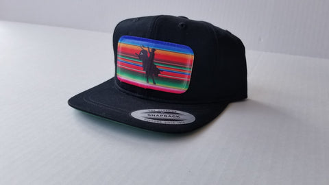 Serape Bucking Bull Toddler Hat