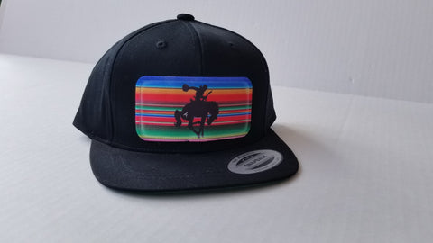 Serape Vintage Bucking Horse Toddler Hat