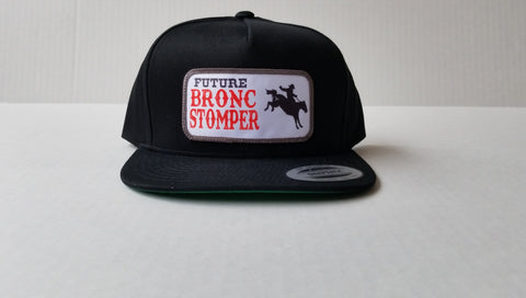 Future Bronc Stomper Youth Snap Back Hat - Black