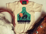 Cowboyin' Is Life  - S/S One Piece - Infant - Oatmeal