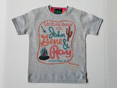 My Super Hero's Are John, Gene & Roy S/S Infant Tee