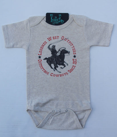 Legends West Outfitters  - S/S One Piece - Infant